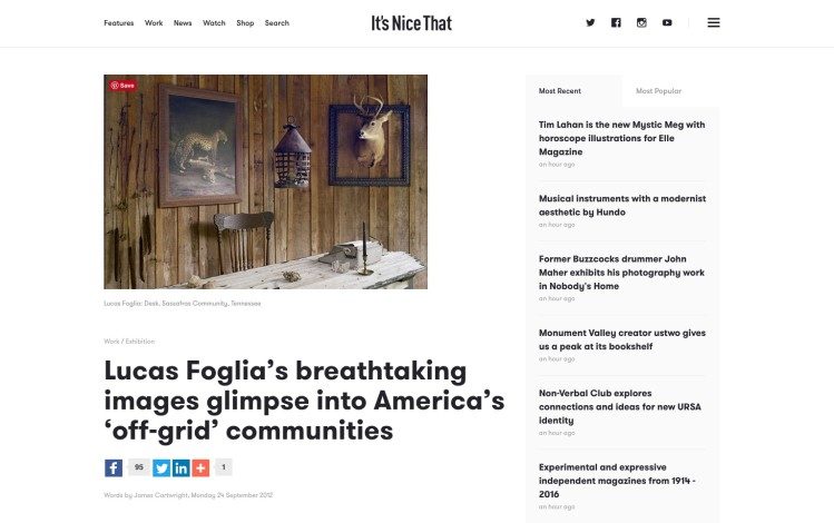 Lucas Foglia's breathtaking images glimpse into America's 'off-grid' communities