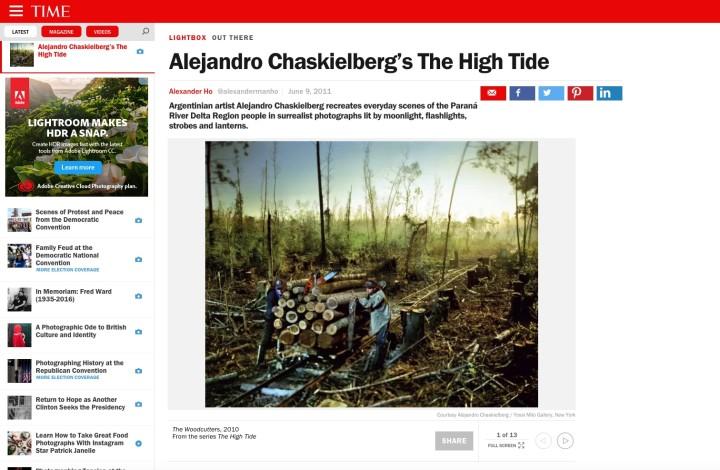 Alejandro Chaskielberg's The High Tide