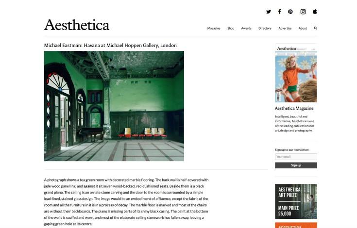 Michael Eastman: Havana at Michael Hoppen Gallery, London