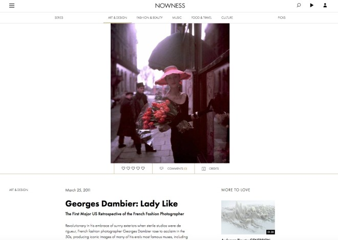 Georges Dambier: Lady Like