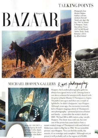 Michael Hoppen Gallery - Rare photography