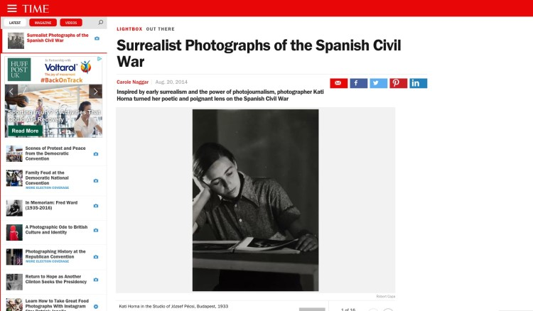 Surrealist Photographs of the Spanish Civil War