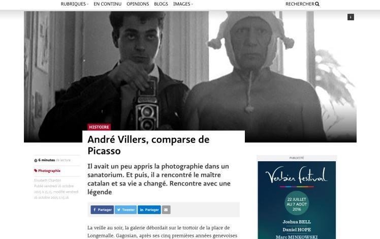 André Villers, comparse de Picasso
