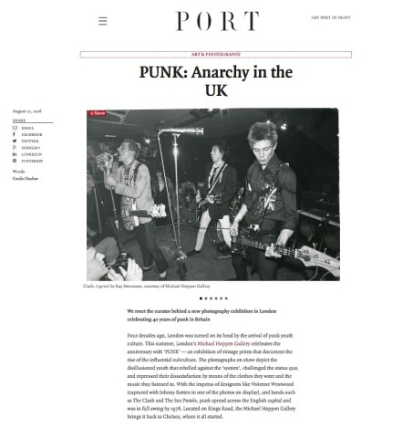 PUNK: Anarchy in the UK