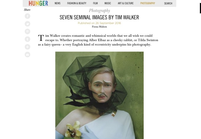 SEVEN SEMINAL IMAGES BY TIM WALKER