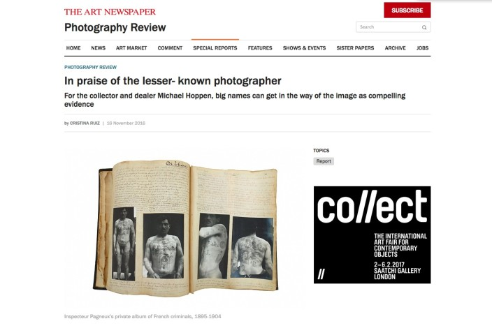 In praise of the lesser- known photographer