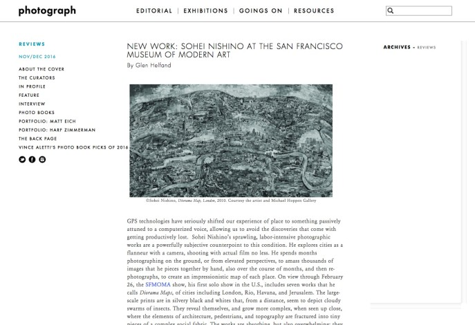 NEW WORK: SOHEI NISHINO AT THE SAN FRANCISCO MUSEUM OF MODERN ART