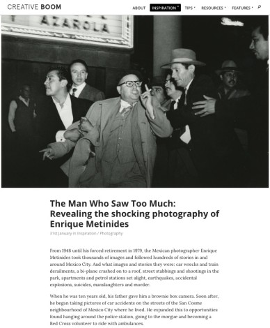 The Man Who Saw Too Much: Revealing the shocking photography of Enrique Metinides