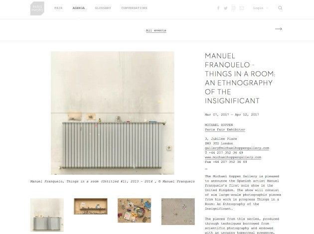Manuel Franquelo - Things in a Room: An Ethnography of the Insignificant