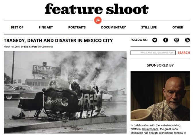 TRAGEDY, DEATH AND DISASTER IN MEXICO CITY