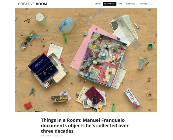 Things in a Room: Manuel Franquelo documents objects he's collected over three decades