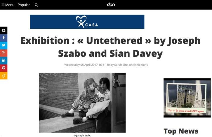Exhibition: Untethered, Joseph Szabo & Siân Davey