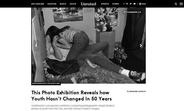 UNTETHERED: This Photo Exhibition Reveals how Youth Hasn't Changed In 50 Years