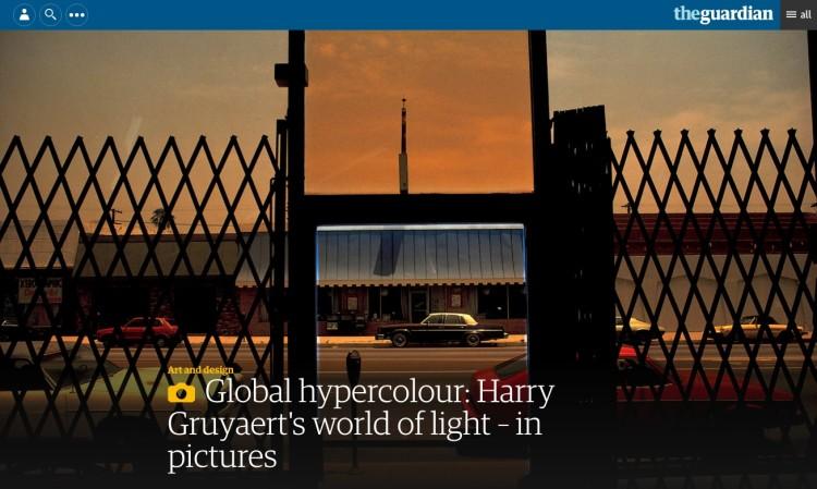 Global hypercolour: Harry Gruyaert's world of light – in pictures