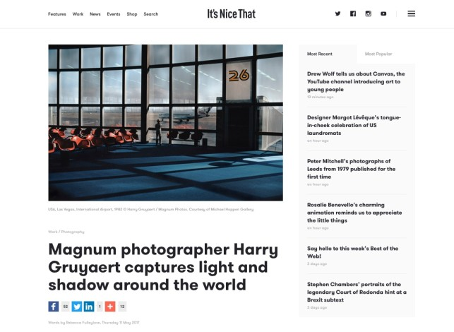Magnum photographer Harry Gruyaert captures light and shadow around the world