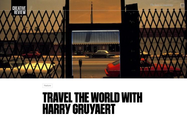 TRAVEL THE WORLD WITH HARRY GRUYAERT