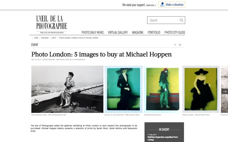 Photo London: 5 images to buy at Michael Hoppen