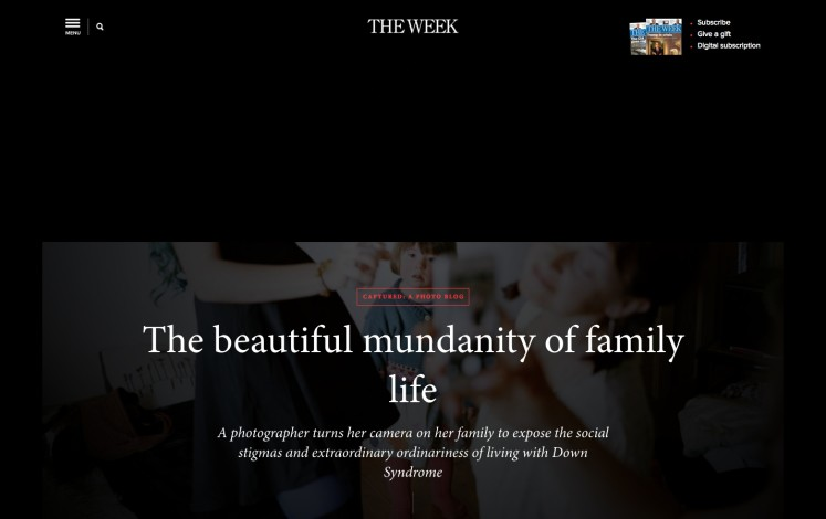 The beautiful mundanity of family life