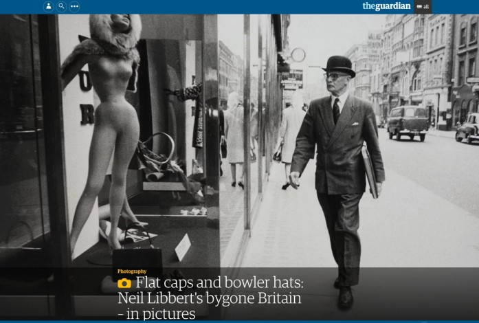 Flat caps and bowler hats: Neil Libbert's bygone Britain