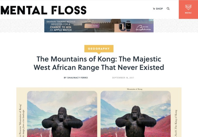 The Mountains of Kong: The Majestic West African Range That Never Existed