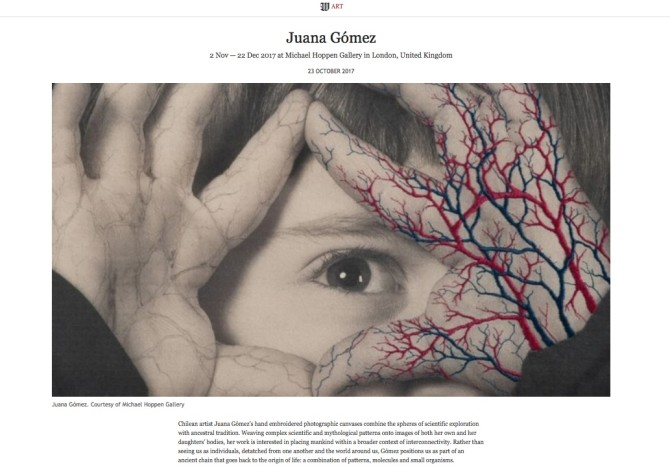 Juana Gómez: WSJ