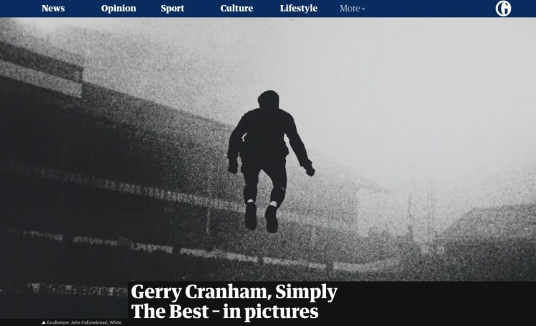 Gerry Cranham, Simply The Best – in pictures