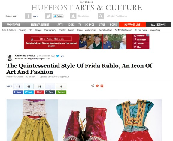 The Quintessential Style Of Frida Kahlo, An Icon Of Art And Fashion