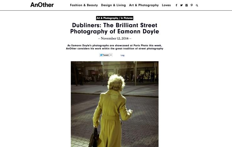 Dubliners: The Brilliant Street Photography of Eamonn Doyle