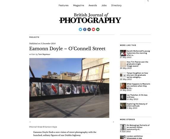 Eamonn Doyle – O'Connell Street