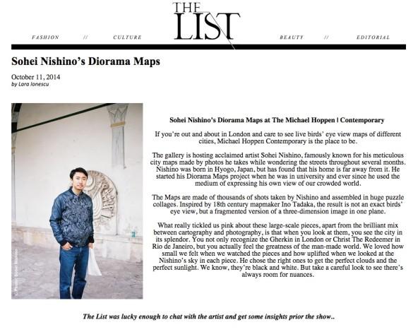 Sohei Nishino's Diorama Maps