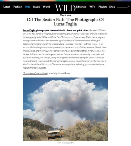 Off The Beaten Path: The Photographs Of Lucas Foglia