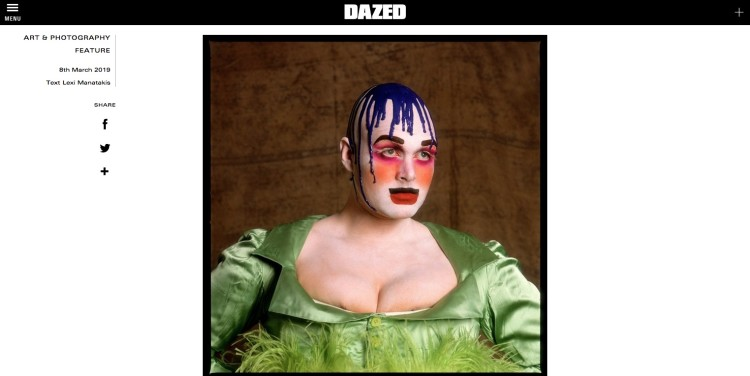 Dazed: The rare stories behind classic portraits of luminary Leigh Bowery