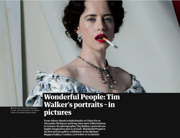 Wonderful People - Tim Walker's portraits - in pictures