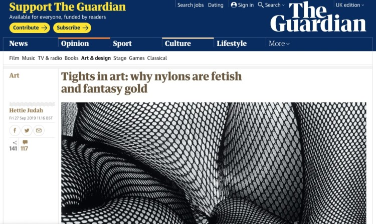 Tights in art: why nylons are fetish and fantasy gold
