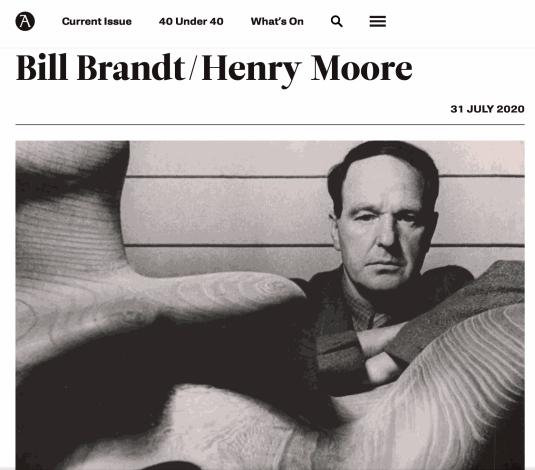 Bill Brandt/Henry Moore at The Hepworth Wakefield