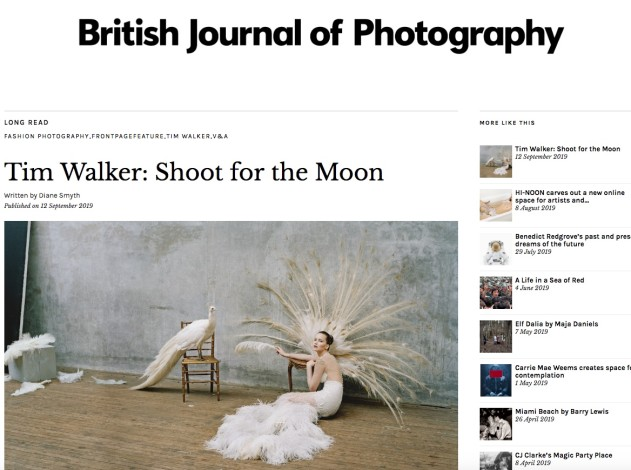 Tim Walker: Shoot for the Moon - BJP