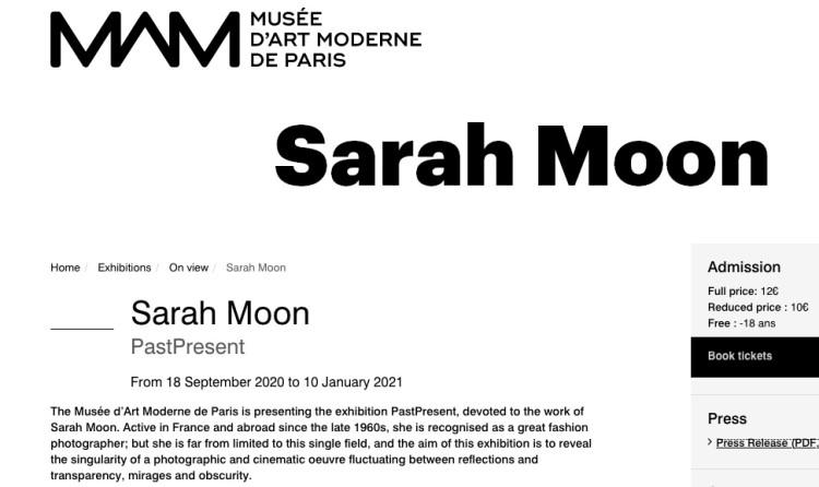 Sarah Moon   PastPresent