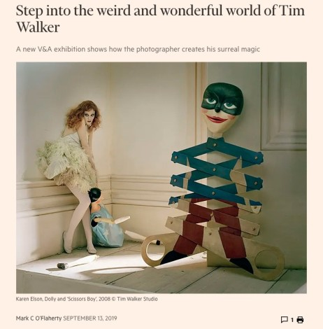 Step into the weird and wonderful world of Tim Walker - The FT