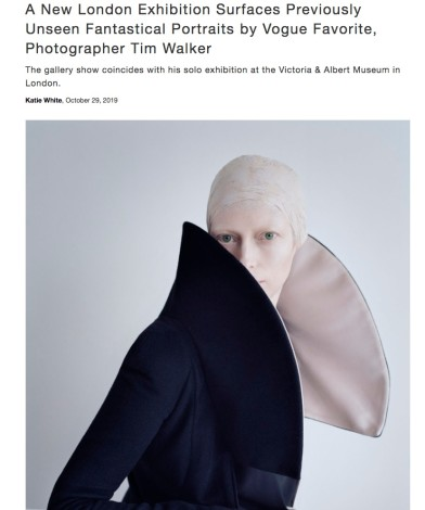 A New London Exhibition Surfaces Previously Unseen Fantastical Portraits by Vogue Favorite, Photographer Tim Walker