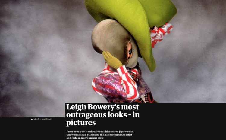 The Guardian: Leigh Bowery's most outrageous looks