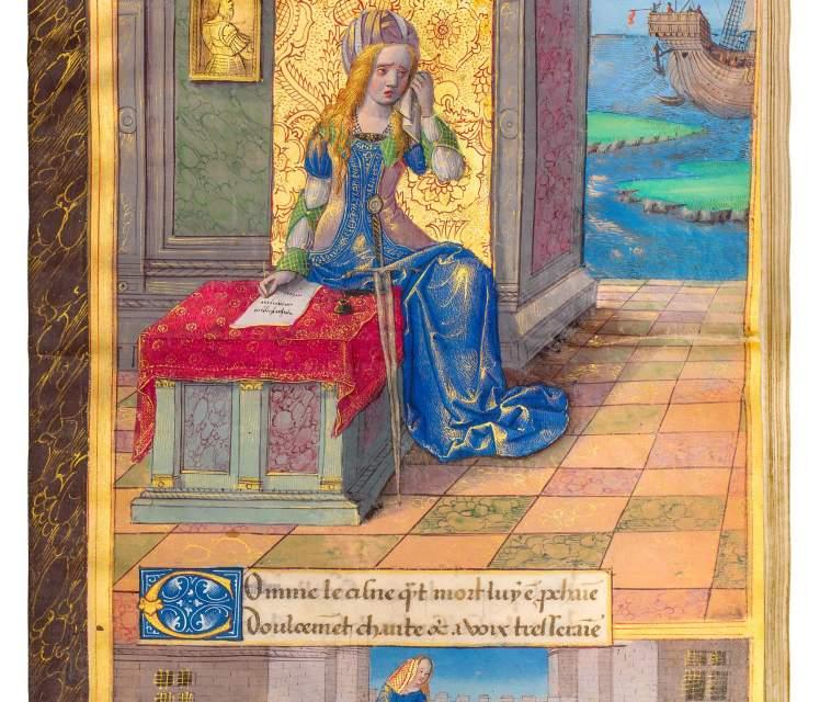 New Home for Queen Anne de Bretagne's 'Epistres d'Ovide'