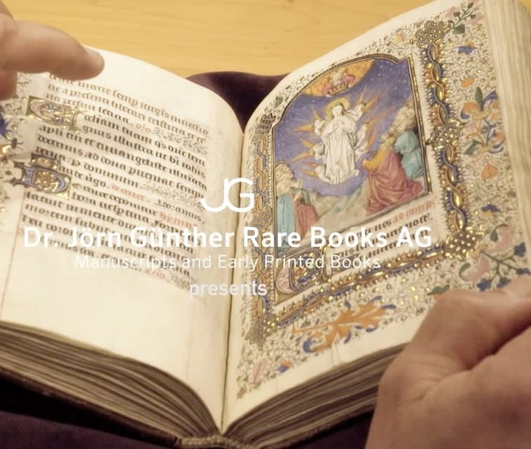 An Exciting Discovery: The Fauquier Hours