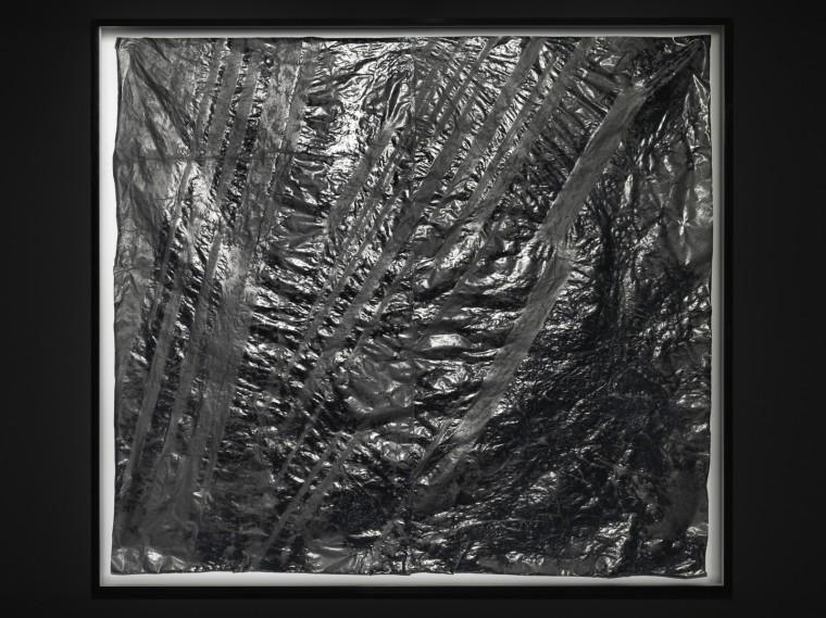 Zheng Chongbin, Terrain, 2014, Ink, acrylic, xuan paper, 183.5 x 201.5 cm