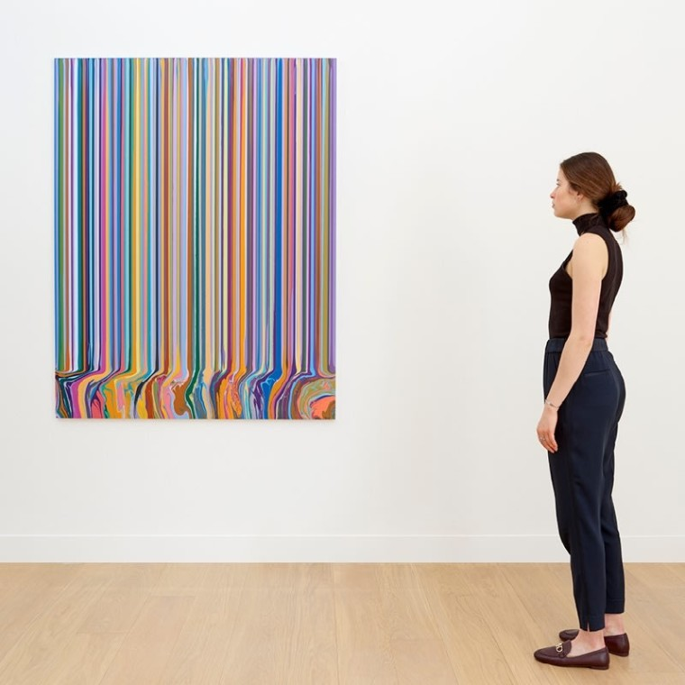 NEW WORK: Ian Davenport, Waddington Custot Gallery