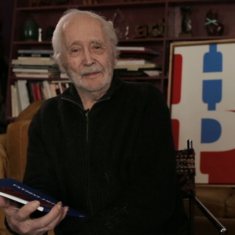 Robert Indiana, Pop Purveyor of Love, Hope, and American Darkness, Dies at 89