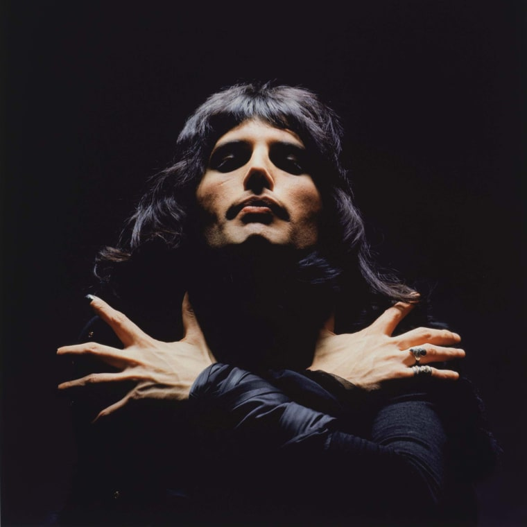 Detail of Freddie Mercury (Queen II Album Session), London