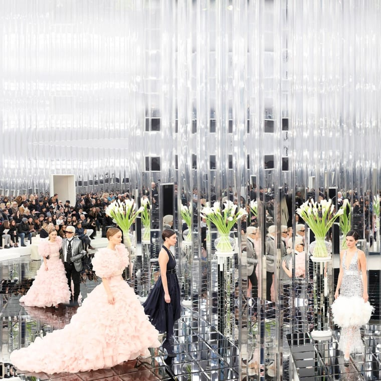 Capturing the ambitious beauty of Karl Lagerfeld's Chanel shows