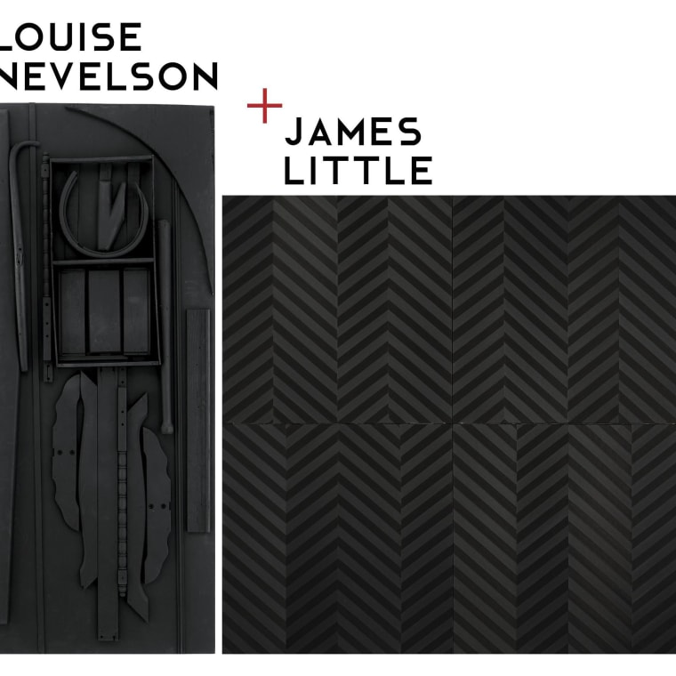 """Louise Nevelson + James Little"" now on view at Rosenbaum Contemporary"