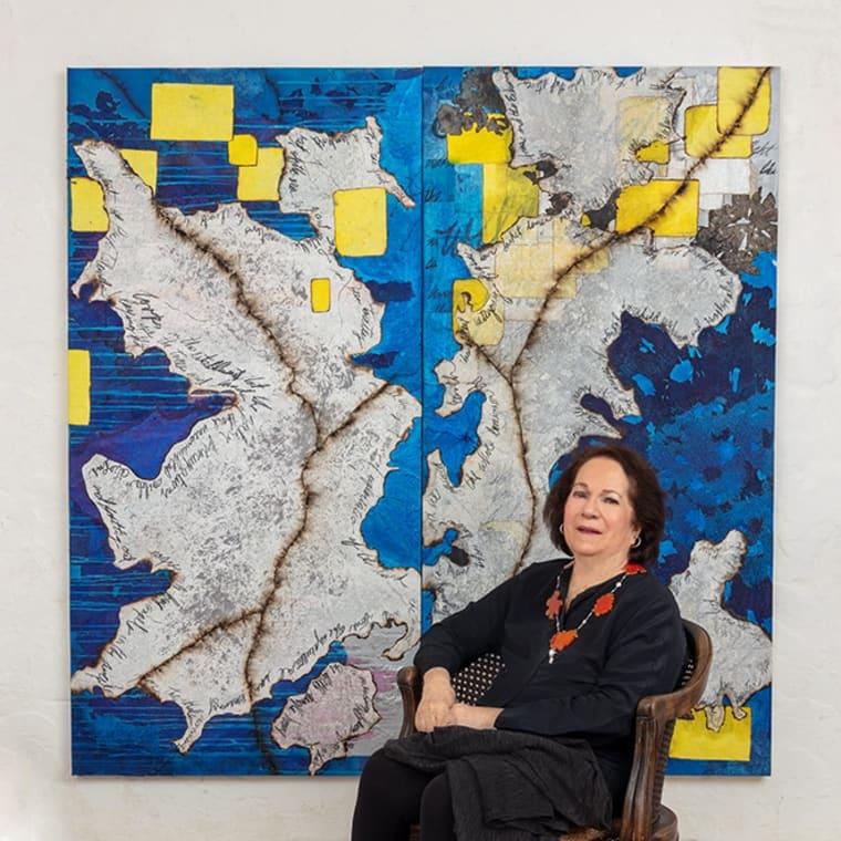 "Mira Lehr's ""Planetary"" Exhibit Stuns at Boca Gallery"