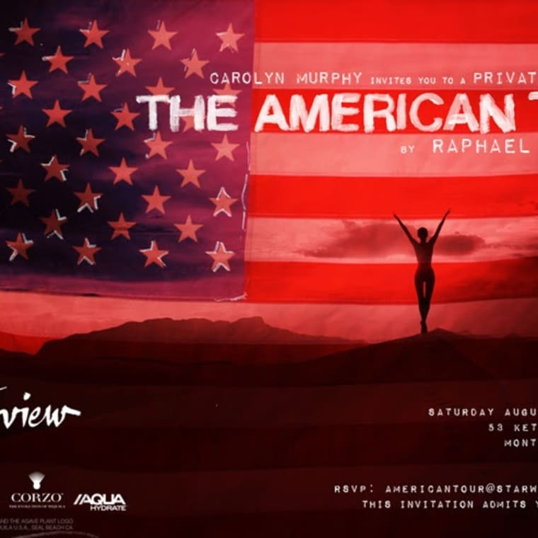 The American Tour by Raphael Mazzucco